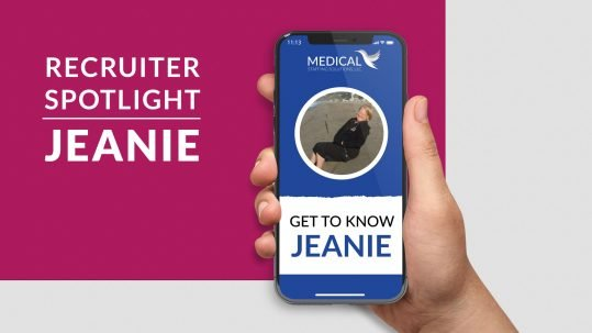 Recruiter Spotlight: Jeanie
