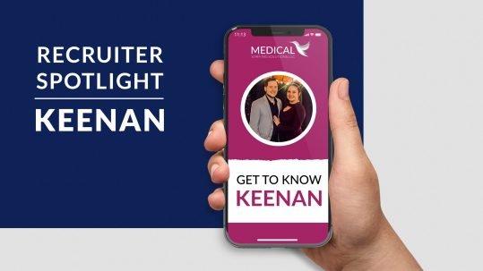 Recruiter Spotlight: Keenan