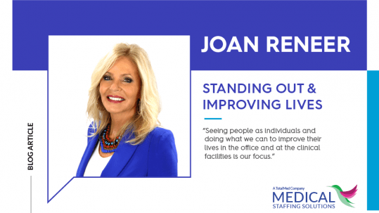 photo of Joan Renner from Medical Staffing Solutions